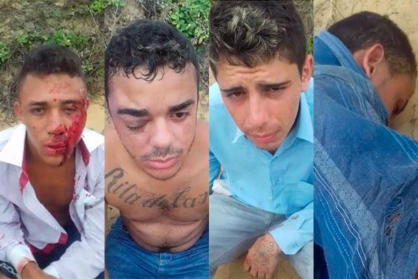 Bandidos foram perseguidos, capotaram carro e mataram motociclista