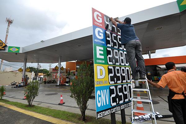 Redução não foi maior em decorrência da nova política da Petrobras para precificação de combustíveis