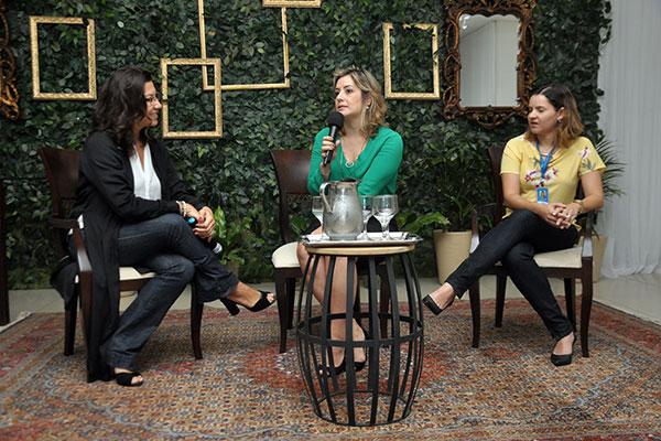 Sanzya Costa, gerente da TN, recebe Ana Paula Lima e Fabiana Totti para falar sobre cases de sucesso
