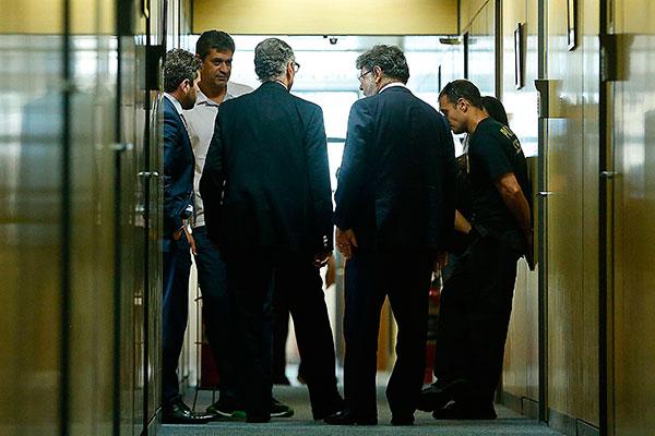 Nuzman é ouvido pela Polícia Federal logo após sua prisão