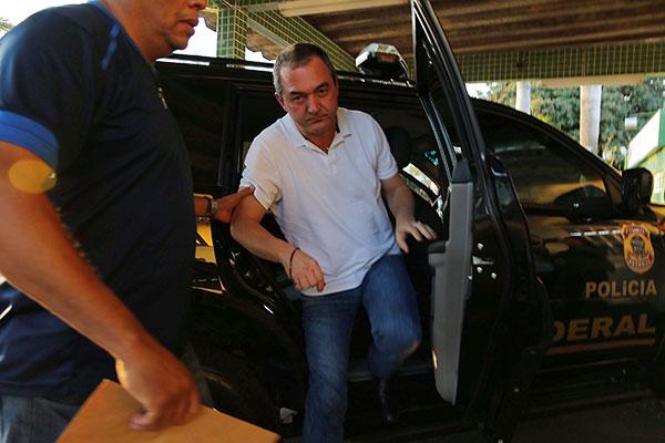 Joesley Batista (foto) e o irmão Wesley Batista estão presos na Polícia Federal em SP desde setembro