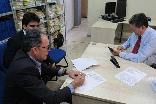 Jonny Costa assinou acordo proposto pelo juiz Cícero Martins