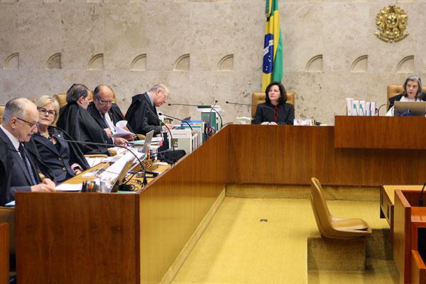 Presidente do Supremo Tribunal Federal, ministra Carmen Lúcia deu o voto de desempate