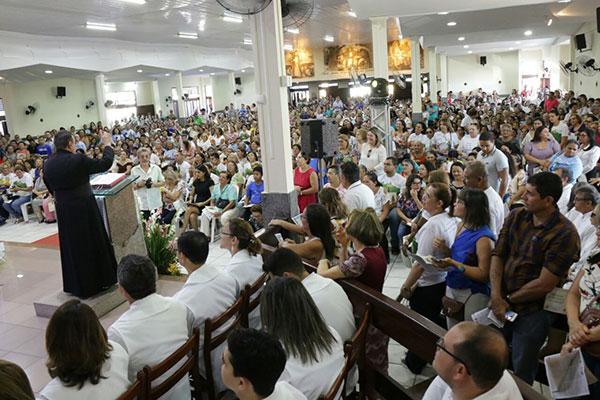 Celebração foi presidida pelo padre Nunes