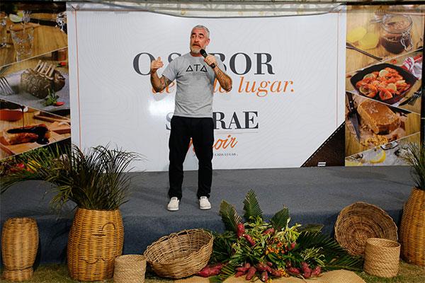 Alex Atala falou sobre a importância dos alimentos terroir na gastronomia