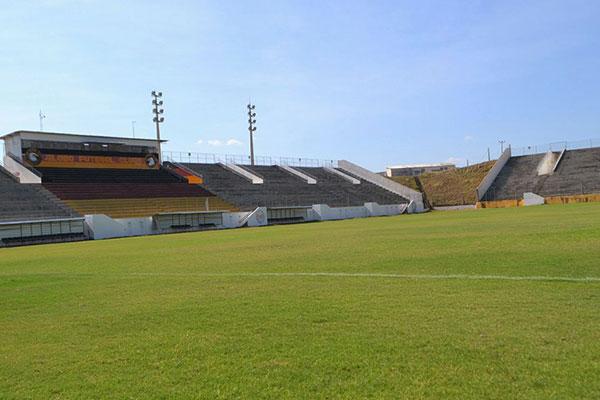 O Barrettão vai sediar os confrontos do Atlético Potiguar na atual temporada