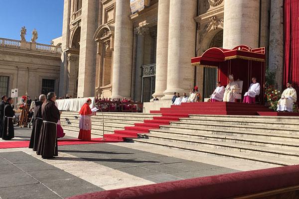 Além dos 30 mártires do RN, outras 5 pessoas também foram canonizadas hoje