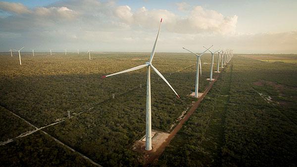 Parque eólico está conectado ao Sistema Interligado Nacional (SIN), que trasmite a energia gerada para as centrais de distribuição instaladas no território nacional