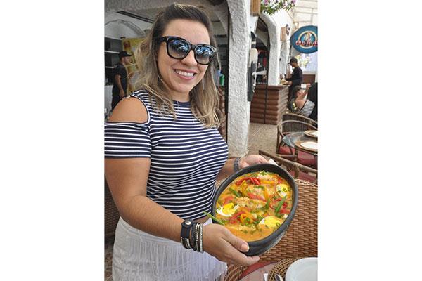 Ísis Melo mantém pratos típicos no menu