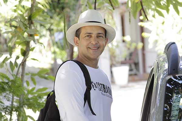Gilson Bezerra: Vivenciar o lugar é o mais interessante