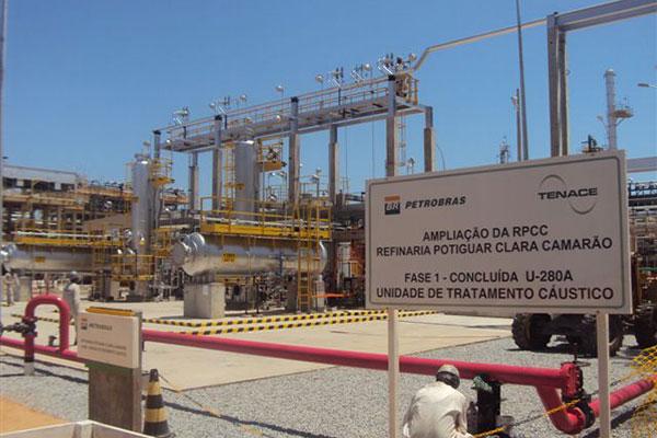 Resultado de imagem para refinaria Clara Camarão