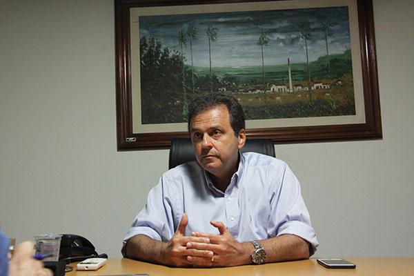 O prefeito de Natal, Carlos Eduardo
