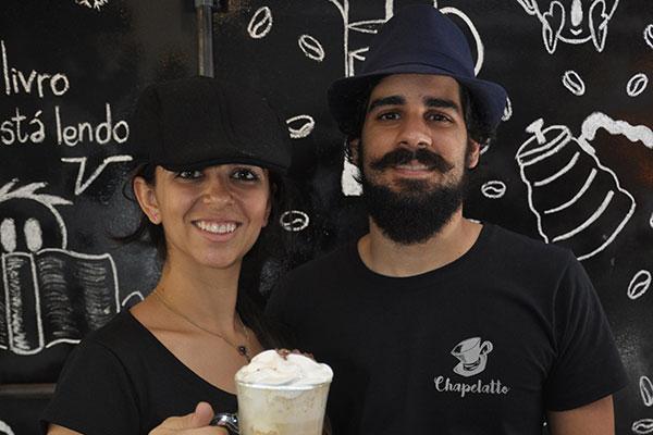 Tamyris e Ricardo Bezerra comandam espaço dedicado ao café e convidam barista Milena Rodrigues para workshops