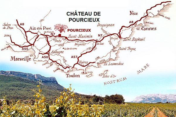 Nesta região nasceram os mais antigos vinhedos da França
