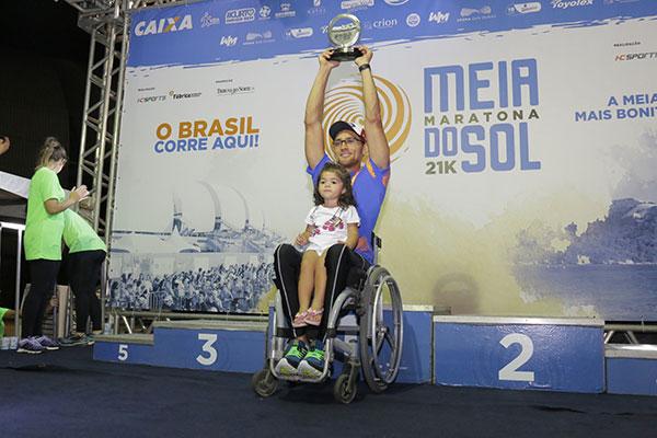 Na categoria PCD, quem levou a melhor foi Adriano Françonaldo
