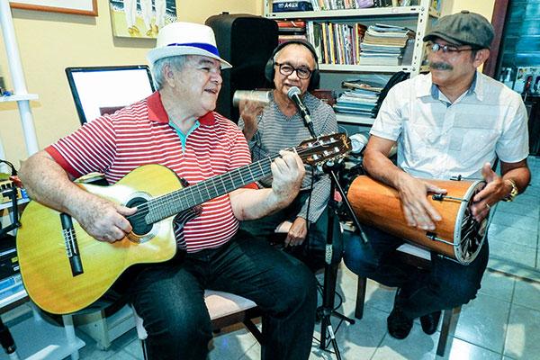 Mestres das Rocas, Seu Luiz, Souza e Evilásio ganham registro