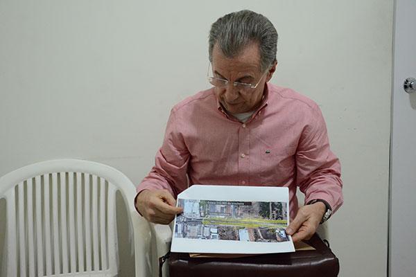 Consultor do Seturn, Nilson Queiroga, apresentou proposta de execução das obras em duas etapas