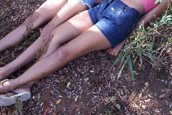 Vítimas não foram identificadas, mas aparentam ser menores de idade, segundo informações da PM