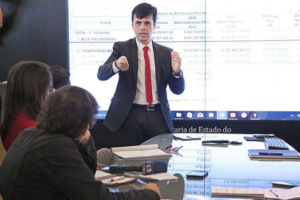 Gustavo Nogueira foi autorizado a contingenciar dotações orçamentárias para equilibrar contas
