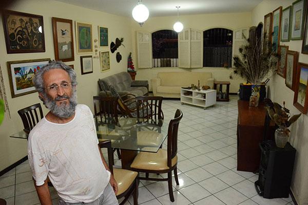 Véscio Lisboa abre as portas de sua residência em Lagoa Nova, para os adeptos da cozinha naturalista. Ele batizou a retomada de Amai Refazenda