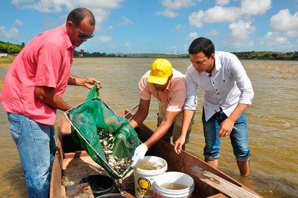 A tilápia é fonte de renda e alimentação dos pescadores e de demais populares que vivem na região