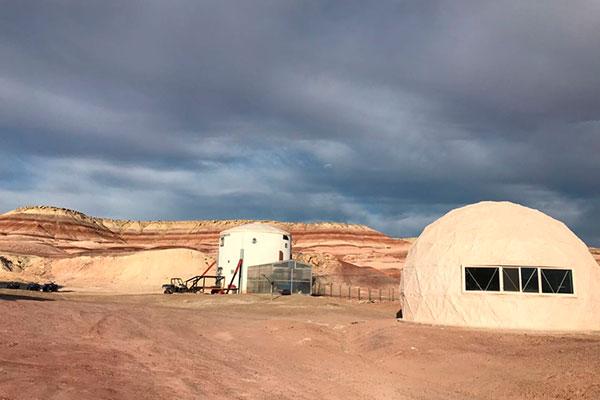 Estação de Pesquisa no deserto de Utah (EUA) simula condições inóspitas do habitat marciano
