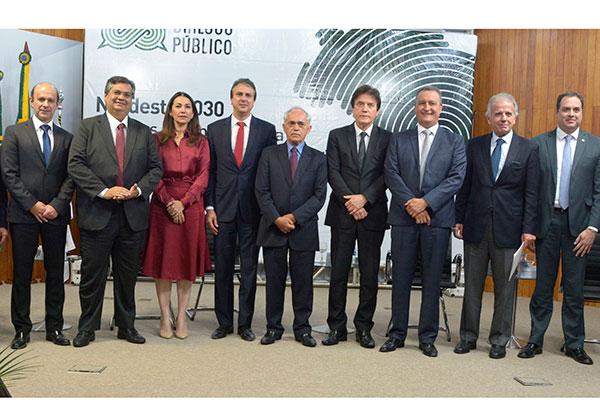 Evento promovido pelo Banco do Nordeste debateu assuntos relacionados ao desenvolvimento da região Nordeste e reuniu governadores e especialistas no Ceará