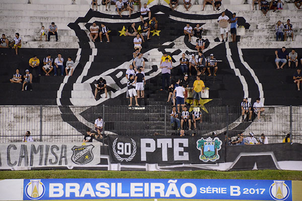 Os jogos do ABC, na atual temporada, no estádio Frasqueirão tiveram públicos muito baixos