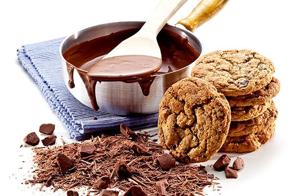 Cookies clássicos em 12 opções, entre chocolates, nozes e macadâmia