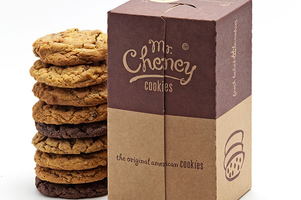 Embalagens para combinar vários sabores de cookies