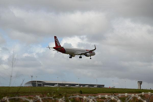 Expectativa era de que com o hub da Latam, aeroporto chegasse a 223 frequências de voos semanais
