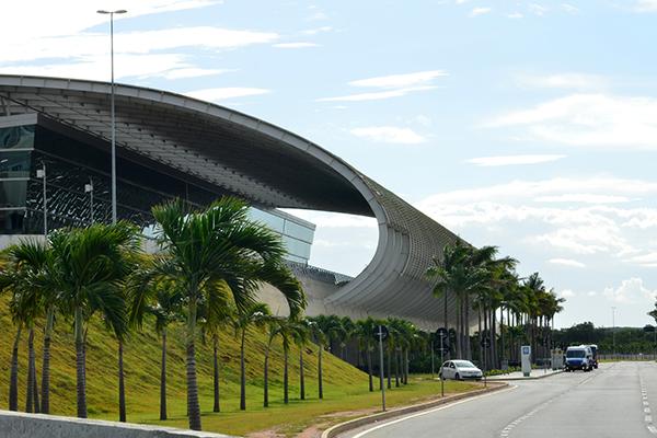 O hub dos Correios movimentaria, a partir do aeroporto Aluízio Alves, cargas procedentes de outros países para as regiões Norte e Nordeste e parte do Centro Oeste