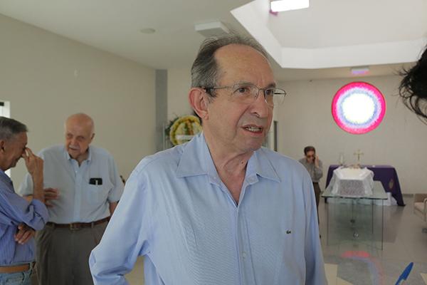 O Presidente da Academia Norte-rio-grandense de Letras, Diógenes da Cunha Lima, esteve presente na despedida de uma das pessoas intelectuais mais importantes do RN