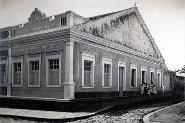Santiago fundou hospital em sua casa, na Rua da Conceição