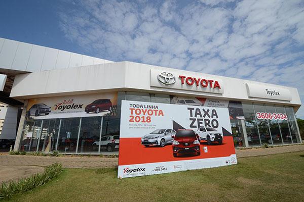 A Toyolex está instalada na Avenida Dão Silveira, nº- 6.300, no Vale do Pitimbu-Natal