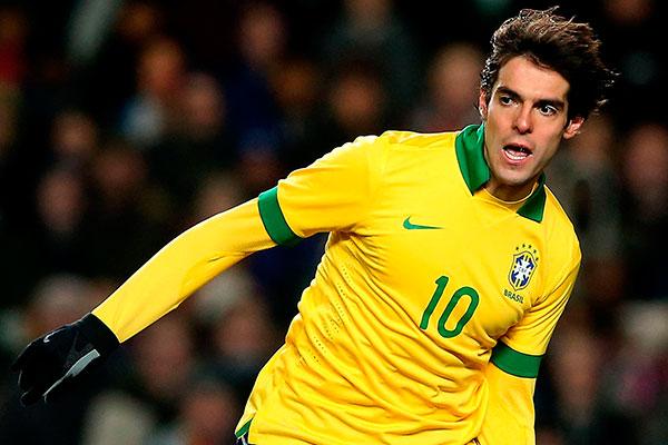 O estilo de camisa 10 foi utilizado pela última vez por Kaká