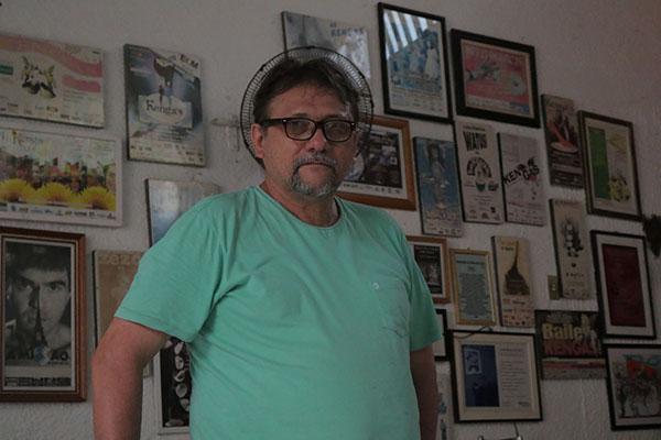 Com 59 anos, o produtor cultural e empresário Lula Belmont, faz história na cidade desde o início dos anos 80