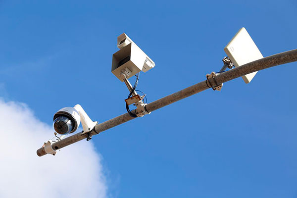 Sistema de videomonitoramento foi testado na tarde desta quarta (03). Os equipamentos serão utilizados para reforçar a segurança nas vias