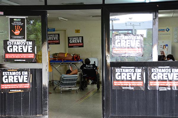 Na Saúde, a paralisação - principalmente, de enfermeiros e técnicos - prejudica o atendimento no maior hospital de urgência, o HWG