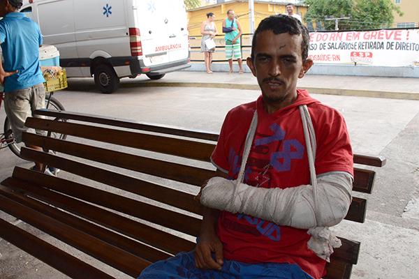Francisco Helder recebeu atendimento, mas faltou a medicação