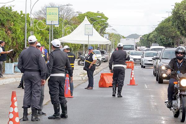 Policiais militares do RN voltaram às ruas após 23 dias parados