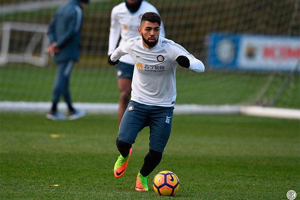 Trajetória de Gabriel na Inter não foi das melhores, com dificuldade de adaptação ele é reserva