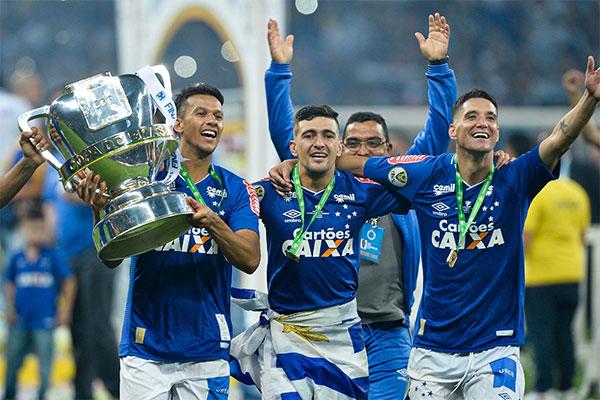 Atual campeão da Copa do Brasil, o Cruzeiro vai entrar na competição na fase de oitavas-de-final