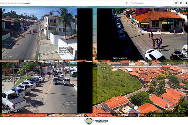 As imagens de todas as câmeras devem estar disponíveis até o carnaval