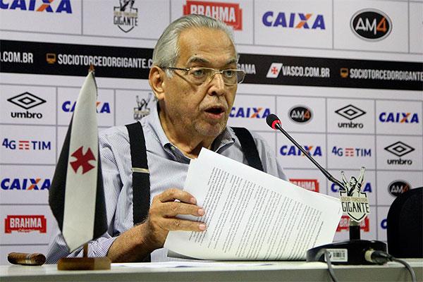 Eurico Miranda não teve sucesso em suspender o veto dos votos da urna sete e perdeu a eleição