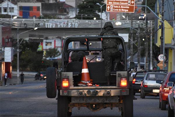 Operação Potiguar III terminou no final da noite de ontem (12). Tropas militares patrulharam as ruas de Natal durante 15 dias
