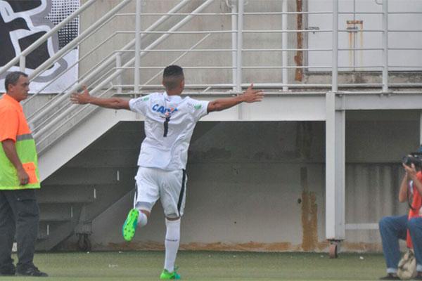 Herivelton comemora gol para o ABC