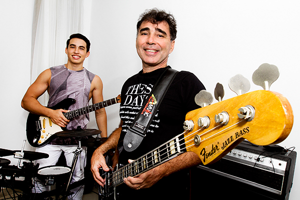Munir Faraj e o filho Munir Jr integram a nova Detroit