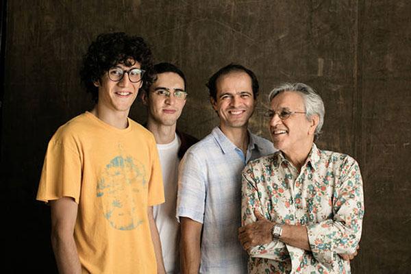 Caetano e os filhos registrarão turnê no DVD Ofertório