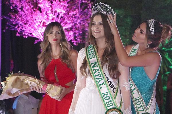 Nahirza Ferreira é a Miss Natal 2018